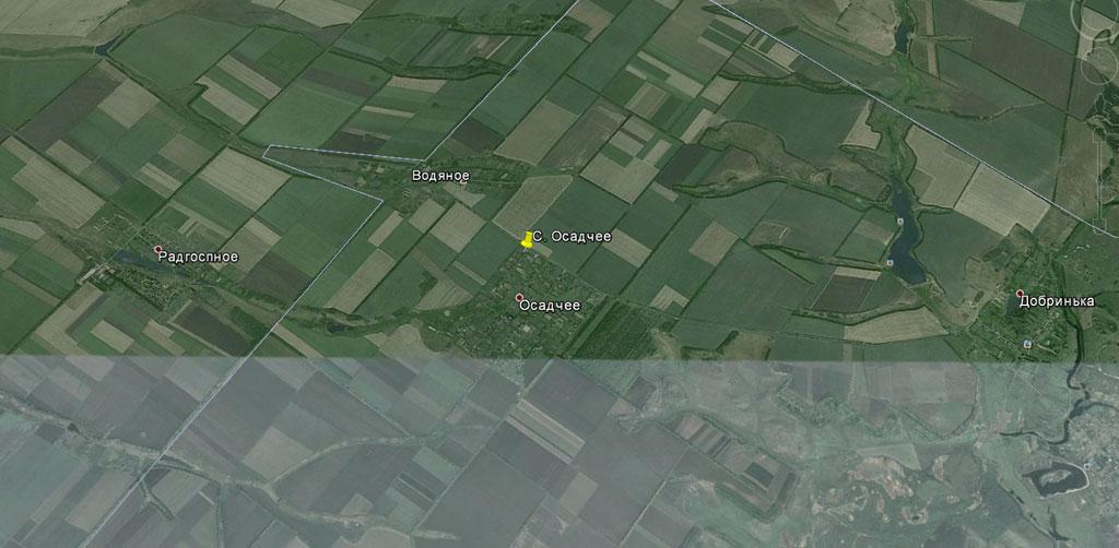 село Осадчее